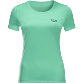 Jack Wolfskin Tech T-shirt Dames, pacific green